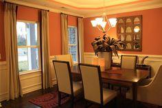 80 Best Orange Dining Room Images Orange Dining Room Arquitetura
