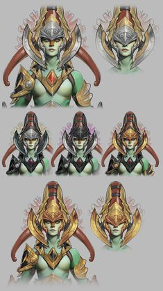 Idee ornement oracle___ Pior Oberson character artist | Dota 2 Workshop