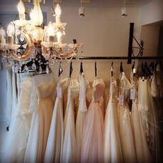 Bridal Boutique, Chandelier, Ceiling Lights, Wedding Dresses, Home Decor, Bride Dresses, Candelabra, Bridal Gowns, Decoration Home