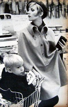 Nicole de la Marge ELLE 1962