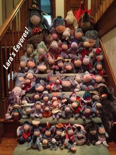 Eeyore!!   <3 This is only SOME of my collection. <3