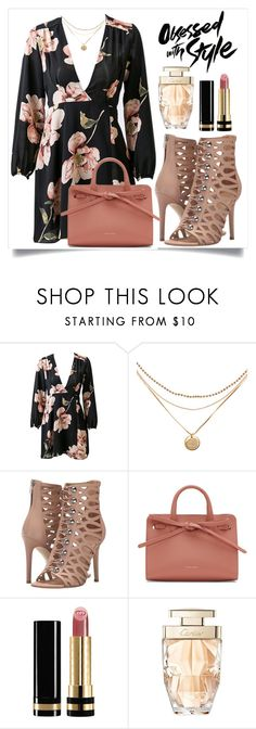 """Blush & Black"" by perezbarrios on Polyvore featuring GUESS, Mansur Gavriel, Gucci and Cartier"