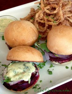 Beet Sliders with Di