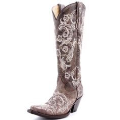 Corral Lace Stitch Cowboy Boots    Need.