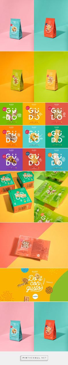 GÜDO Wants To Celebrate The Gluten-Free Lifestyle With Cheery Packaging — The Dieline | Packaging & Branding Design & Innovation News - created via https://pinthemall.net