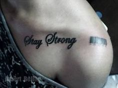 stay strong& barcode