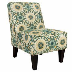 angelo:HOME Dover Turquoise Garden Wheel Armless Chair