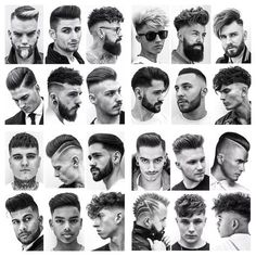 A complete collection of my work for Mens Hairstyles With Beard, Hair And Beard Styles, Hairstyles Haircuts, Haircuts For Men, Short Hair Styles, Haircut Tip, Home Hair Salons, Gents Hair Style, Barber Haircuts