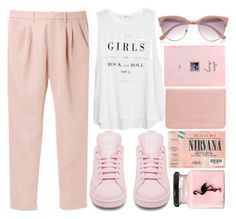 """Untitled #203"" by katie-m1 ❤ liked on Polyvore featuring Uniqlo, MANGO, adidas, River Island, Coast and ASOS"