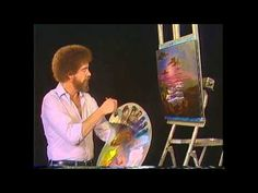 Bob Ross: The Joy of Painting - Peace Offering of Summer - YouTube