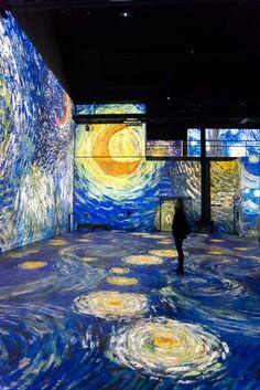 Culturespaces Presents New Van Gogh Exhibit at the Atelier des Lumières Van Gogh Museum, Art Museum, Van Gogh Werke, Van Gogh Pinturas, Vincent Willem Van Gogh, Paris Atelier, Van Gogh Art, Impressionist Artists, Van Gogh Paintings