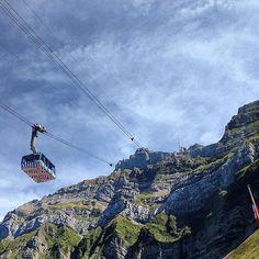 #Säntis#berg#mountain#switzerland#schweiz#appenzellerland#seilbahn#schwebebahn#stein#stone#sky#sun#ostschweiz by pinkpather232