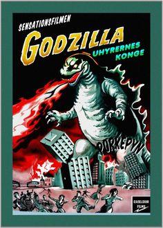 Danish Godzilla poster