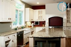 images granite countertops with white cabinits   Giallo Ornamental . Granite color selection for countertops