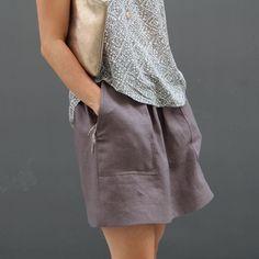 Basics . Pocket Skirt . womens