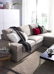 Kivik Sofa Teno Light Gray