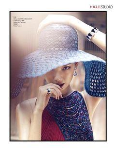 Grace Gao - Vogue China November 2014