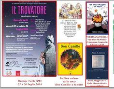 """Banner della Rivista del """"Club dei Ventitré"""" (G. Guareschi).  Tra Giuseppe Verdi e don Camillo :) <3  #UnSottomarinoinPaese"""