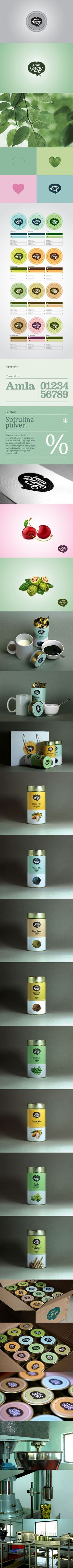 I am Pure Logo & Packaging packaging branding marketing PD Corporate Design, Brand Identity Design, Graphic Design Branding, Identity Branding, Visual Identity, Branding And Packaging, Packaging Design, Food Packaging, Logo Inspiration