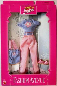 Teen Skipper Barbie's Little Sister Fashion Avenue 18379