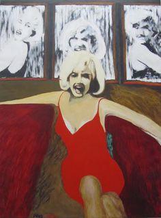 Warhol não estava só no seu intento de imortalizar Monroe, e uma comparação entre as serigrafias e as imagens produzidas por outros artistas Pop permite discernir as diferenças de abordagem e de interpretação de um tema comum. James Gill explorava também imagens de Monroe obtidas pelos meios de comunicação, em particular uma série tirada pouco antes da sua morte e publicada pela revista life.