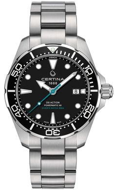 Certina Watch DS Action Diver Sea Turtle Conservancy #add-content #basel-18 #bezel-uni-directional #bracelet-strap-steel #brand-certina #case-material-steel #case-width-43mm #cws-upload #date-yes #delivery-timescale-call-us #dial-colour-black #gender-mens #movement-automatic #new-product-yes #official-stockist-for-certina-watches #packaging-certina-watch-packaging #subcat-ds-action #supplier-model-no-c032-407-11-051-10 #warranty-certina-official-2-year-guarantee #water-resistant-300m
