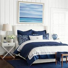 Stylish In Navy & White (Coastal Style)