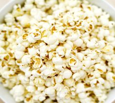 HEALTHIER AIR-POPPED POPCORN