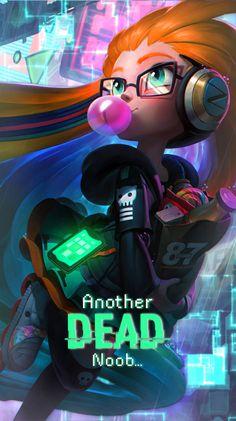 Cyberpop Zoe by ShadowfreakxD