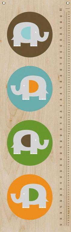 Modern Elephant growth chart by EleFUNt