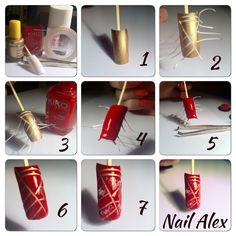 Tuto pour stripping tape 2 couleurs :)