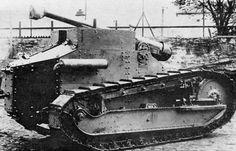 Renault FT 75 mm hautizer.