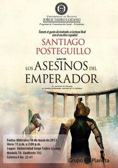 Conferencia del escritor español Santiago Posteguillo.