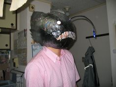 Instructables: How to make an Anglerfish mask