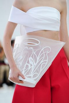"judith-orshalimian: "" Delpozo details spring/summer 2015, New York fashion week! """
