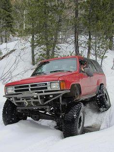 Toyota Pickup 4x4, Toyota Trucks, 4x4 Trucks, Custom Trucks, Pick Up, Flatbed Truck Beds, Toyota Runner, 1st Gen 4runner, Toyota Surf