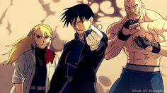 Fullmetal Alchemist AMV - Don't Take No For An Answer
