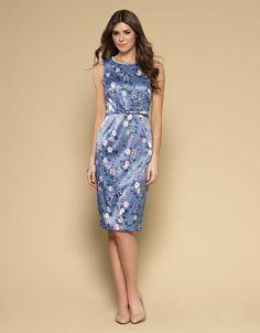 Versaille Print Shift Dress | Blue | Monsoon