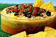 Diabetes-Friendly Super Bowl Party Ideas: Healthy Diabetic Recipe for 7-Layer Dip