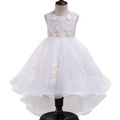 905956a5b55 Little Princess Lace Ball Gown. Girls Party DressBirthday DressesParty  DressesLace Ball GownsCute Little GirlsFlower Girl ...