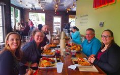 Look at our wonderful faculty taking advantage of free teacher lunch out at the Northern Neck Burger in Tappahannock! #teacherappreciationweek #rappahannockcommunitycollege #nnkburgerco #burger #rappahannock #community #college #instacollege #comm_college #kilmarnock #tappahannock #nnk #northernneck #northernneckva #faculty