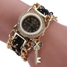 FanTeeDa Brand Fashion Luxury Women Wristwatch Watches Love Word Leather  Strap Ladies Bracelet Watch Casual Quartz Watch Clock  cde61a0ef5aa