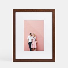 Touting museum-like quality, the Gallery Frame brings your photo to life on premium archival paper with an ultra thick mat. Choose from an array of sophisticated mat cuts plus your choice of finish color. Arrives to your doorstep fully finished and ready to hang.