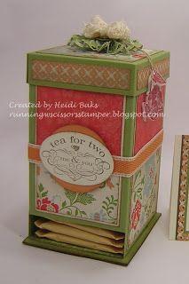 tutorial: Tea Bag Dispenser