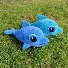 CROCHET DOLPHIN PATTERN Plush Baby Dolphin amigurumi Pdf | Etsy