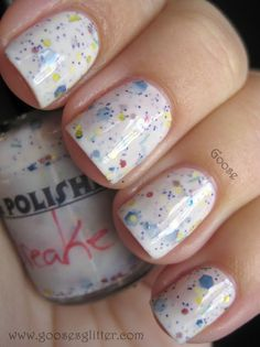 Goose's Glitter: Pretty & Polished - Jawbreaker~ive got to find this Love Nails, How To Do Nails, Pretty Nails, Fun Nails, Creative Nails, Up Girl, Girly Girl, Mani Pedi, Manicures