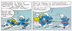 "From the comic ""Nautical smurfs"" - Schtroumpfs nautiques - 06"