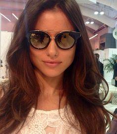 ade2101e30cc Joanna Prus in Dita Eyewear Sun Goggles