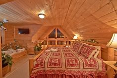 Pigeon Forge Cabin - Away For Romance - 1 Bedroom