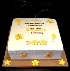 The Big Brownie Birthday Cake